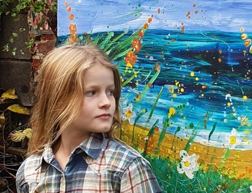 ART LOVERS SUPPORT 7 YEAR OLD DAISY WATT TO RAISE ALMOST £20,000