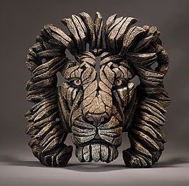 Lion Bust - Savannah