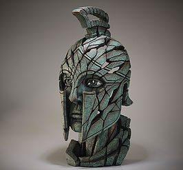 Spartan Bust - Verdi Gris