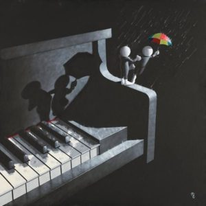 Singing In The Rain - Canvas