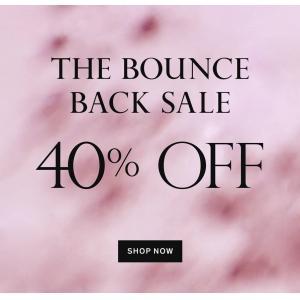 Bounce Back Sale
