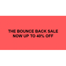 Bounce Back Sale